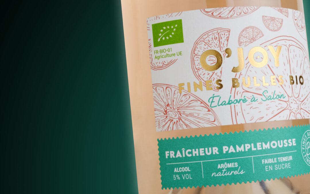 Inessens imprime l'étiquette du premier Wine Seltzer de la Famille Piffaut Vins & Domaines